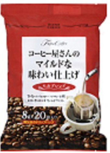 藤田珈琲 コーヒー屋さんのマイルドな味わい仕上げ モカ 8gX20