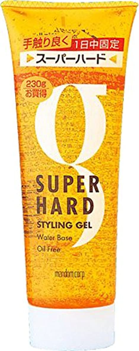 測る欠乏鎮痛剤マンダム ホールドジェル スーパーハード