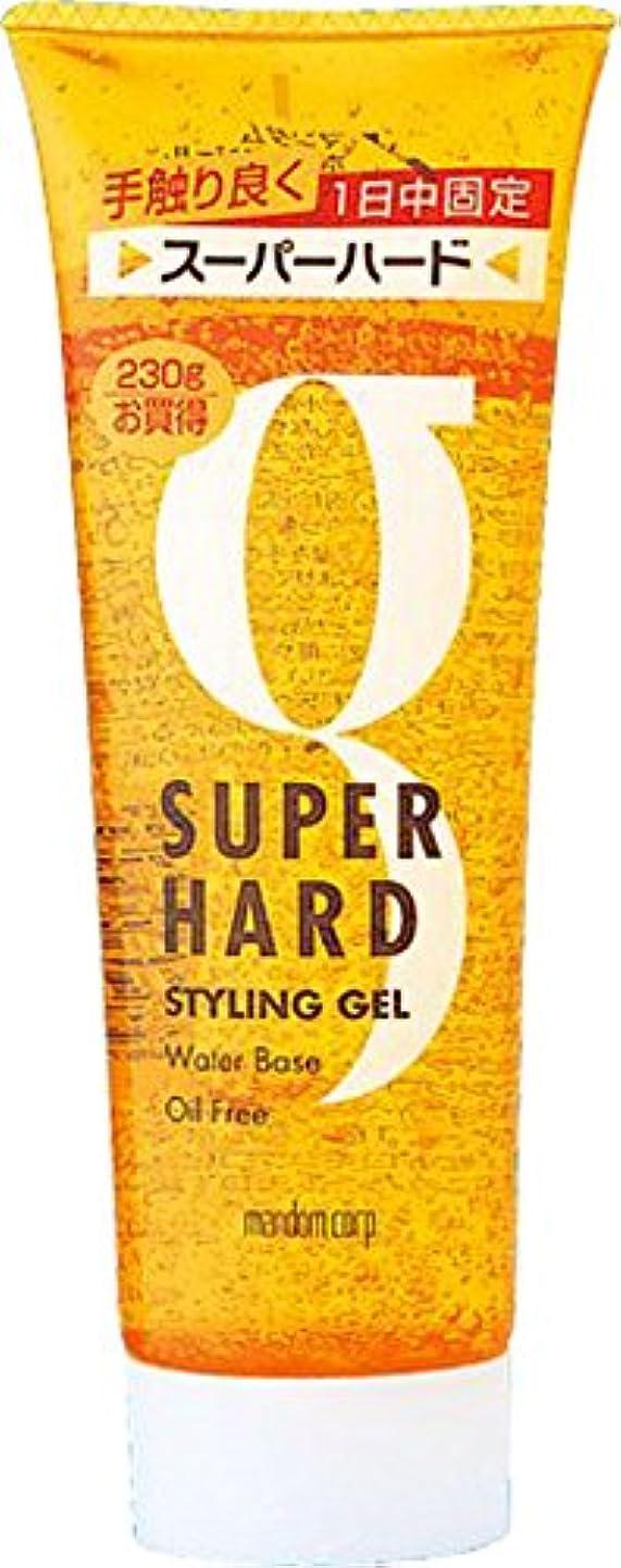 暫定印刷するおめでとうマンダム ホールドジェル スーパーハード