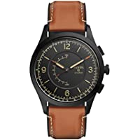 Fossil Men's Q Activist Quartz/2 Hand Brown Watch, (FTW1206)