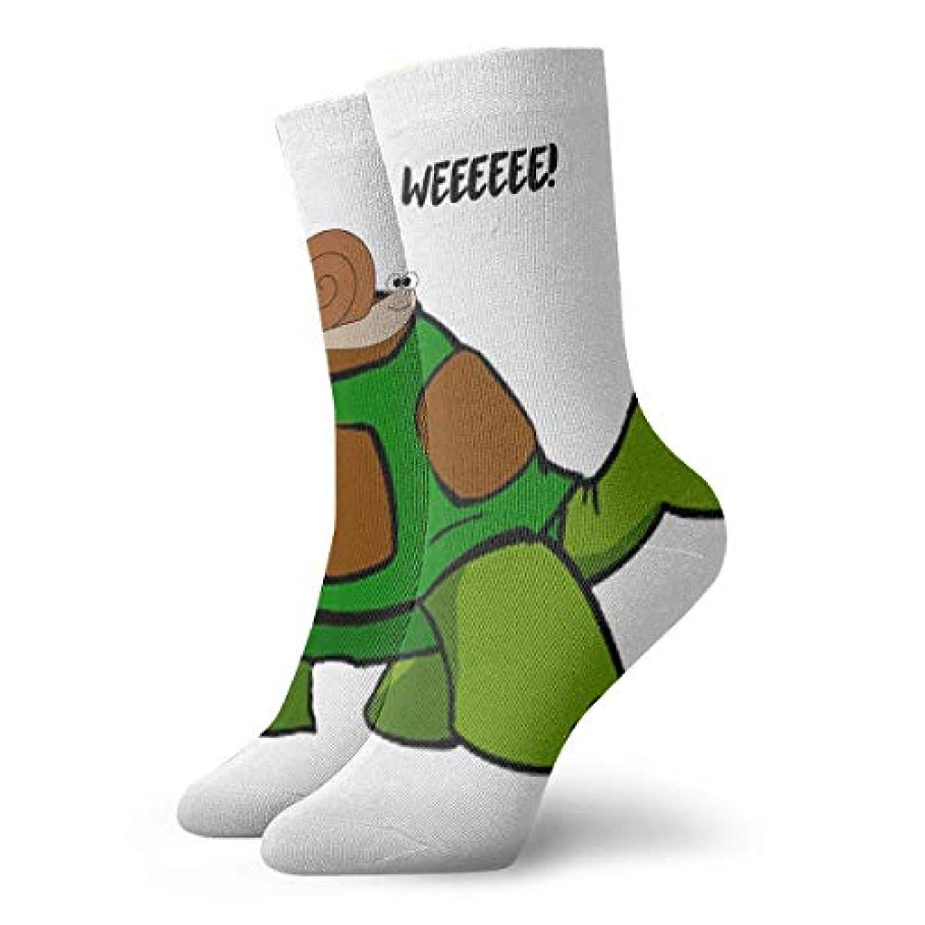 デザート抑圧する嬉しいですqrriyクリスマスソックス面白いカタツムリ遅いタートルライド非スリップ家庭床ソックス冬居心地の良いスリッパ靴下女性男性
