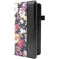 Menesia Checkbook Cover for Men & Women RFID Leather Check Book Holder Wallet