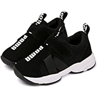 Daclay Kids Shoes Boys Sneakers Girls Sports Running Letter Casual Light Mesh Comfortable