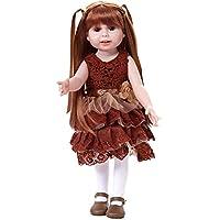 Pueri幼児用ガールReborn人形Lifelikeリアルな赤ちゃん人形ソフトボディおもちゃ17