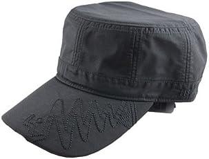 釣りビジョン(Tsuri Vision) レインワークキャップ FVS50534 ブラック×刺繍ブラック