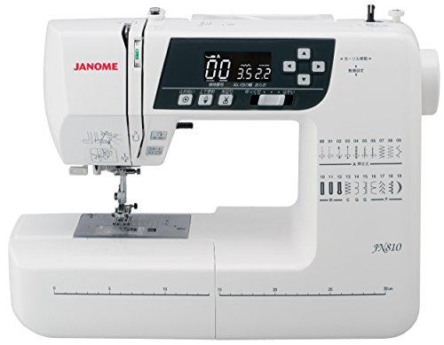 ジャノメ(JANOME) コンピュータ ミシン ワイドテーブル・説明DVD付き JN810