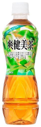 爽健美茶 500ml×24本