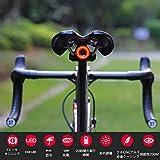 【夜の空】 XLITE ゴリックス 自転車用テールライト AUTO 防水 自動点灯 ブレーキ点灯 明るい USB充電 自転車リアライト(xlite100) 自動照明/デザイン、フルCNCシャーシ 自転車ライト