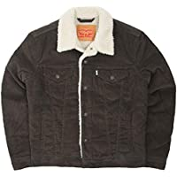 (リーバイス) Levi's タイプ3 シェルパ トラッカー ジャケット 14Wコーデュロイ 国内正規品 ブラウン 16365-0081
