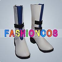 ★サイズ選択可★女性25CM UD255 シャイニング・ブレイド エルミナ 聖王国の可憐なトルバドール コスプレ靴 ブーツ