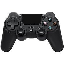 scorel PS4 ワイヤレスコントローラー イヤホンジャック/スピーカー/重力感応 日本取扱説明書付き