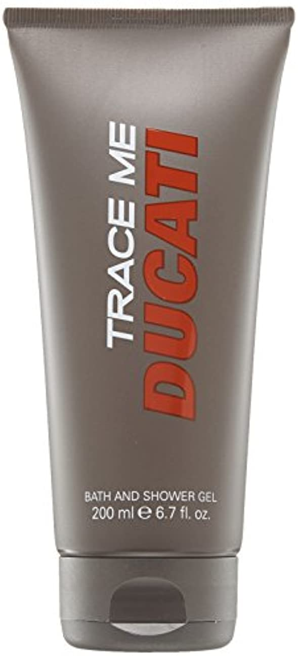 表面的な無駄にパラダイスDucati Trace Me by Ducati Shower Gel 6.7 oz / 200 ml (Men)