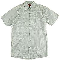 (レッドキャップ) RED KAP #SP20 半袖 ストライプ ワーク シャツ