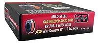 K-T Industries 1-3133 - ER70S-6 Mild Steel Mig Wire .030 10lb by K-T Industries