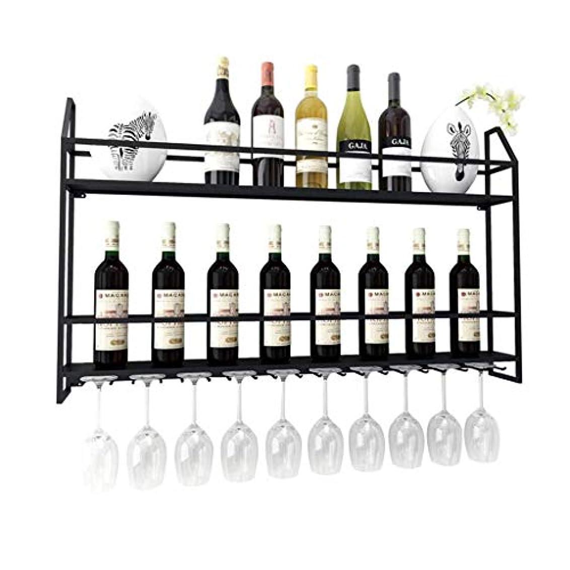 に対応する十分ではない天ステムウェアラックメタルウォールマウントハンギングワインボトルホルダーウォールマウントメタルホームワインラック|ワインボトル|ハンギングステムウェアガラスホルダー|ストレージラック|家と台所の装飾