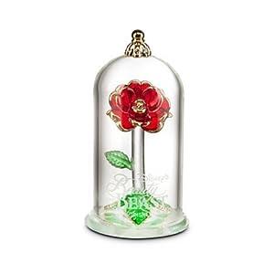 美女と野獣 魔法のバラ ガラスドーム 小サイズ ディズニーUS公式 アリバスブラザーズ [並行輸入品]