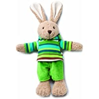 Zutano Hip Hoppy Bunny Toy, Boy by Nat and Jules [並行輸入品]