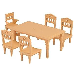 シルバニアファミリー 家具 ダイニングテーブルセット