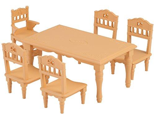 シルバニアファミリー 家具 ダイニングテーブルセット...