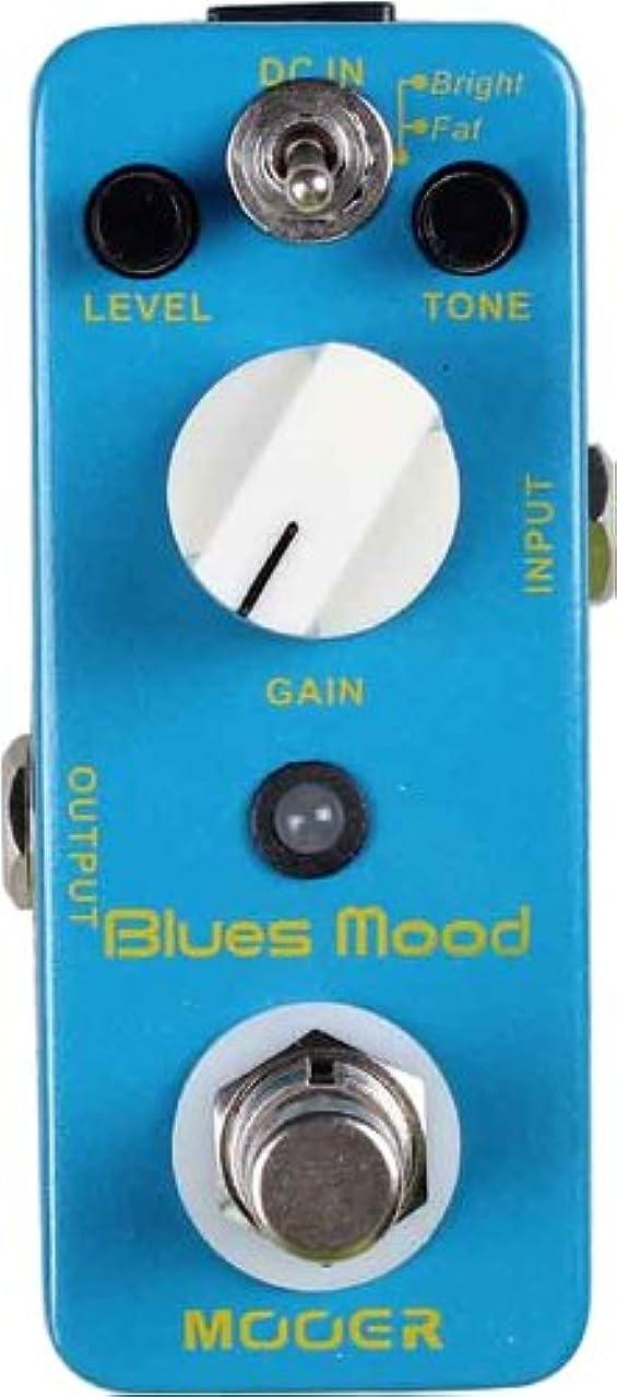 申込み最近転用【国内正規品】 MOOER ムーアー エフェクター オーバードライブ Blues Mood