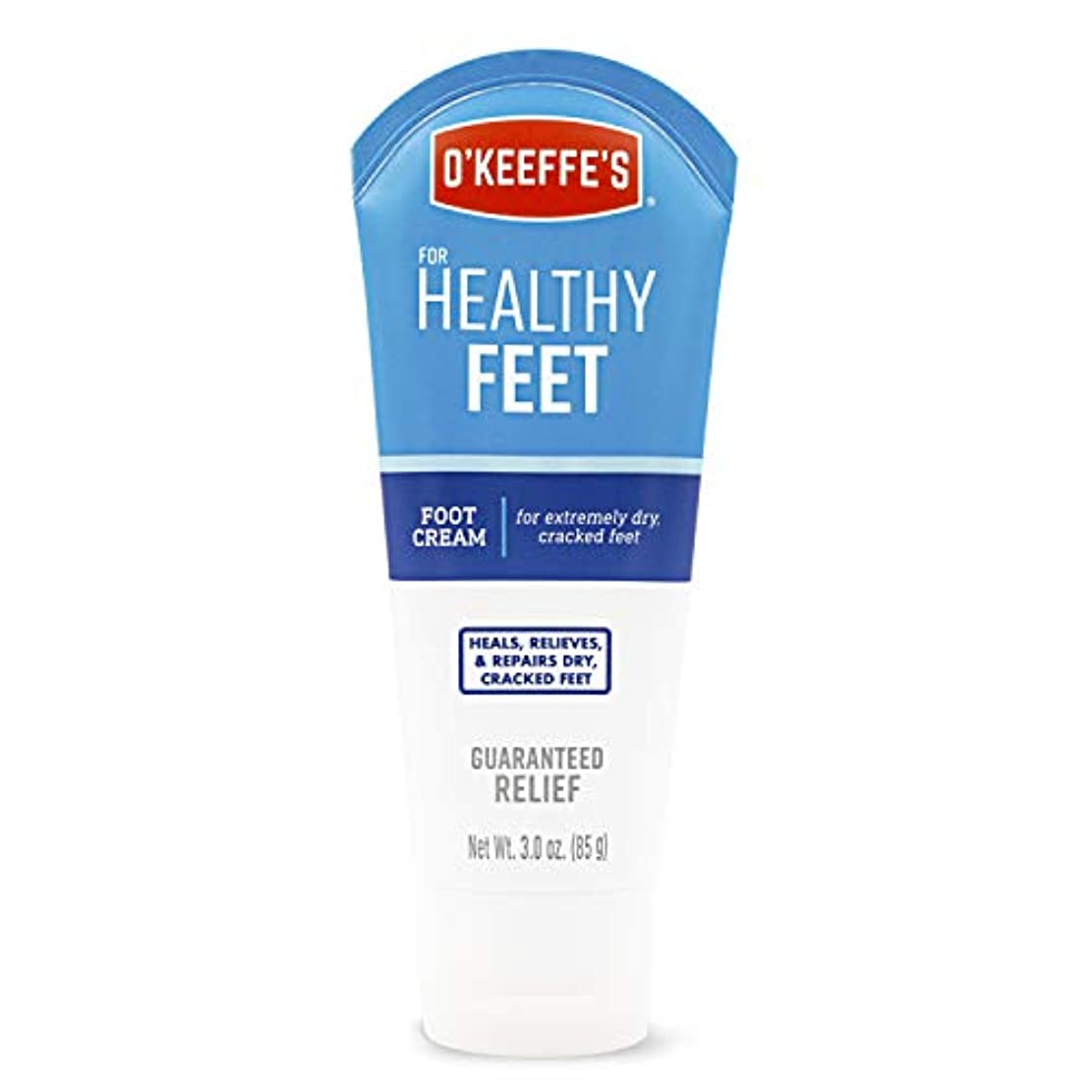 あなたは繰り返し追い越すオキーフス ワーキングフィートクリーム チューブ  85g 1点 (並行輸入品) O'Keeffe's Working Feet Tube Cream 3oz