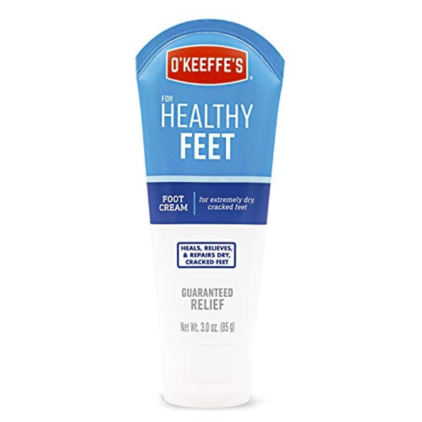 減衰大砲資本主義オキーフス ワーキングフィートクリーム チューブ  85g 1点 (並行輸入品) O'Keeffe's Working Feet Tube Cream 3oz