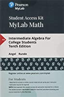 MyLab Math with Pearson eText - Standalone Access Card - for Intermediate Algebra For College Students (10th Edition)【洋書】 [並行輸入品]