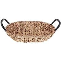 Fenteer 籐 ウィッカー バスケット 手編み 収納ボックス 織物 コンテナ 籐製バスケット 全4種 - 楕円形