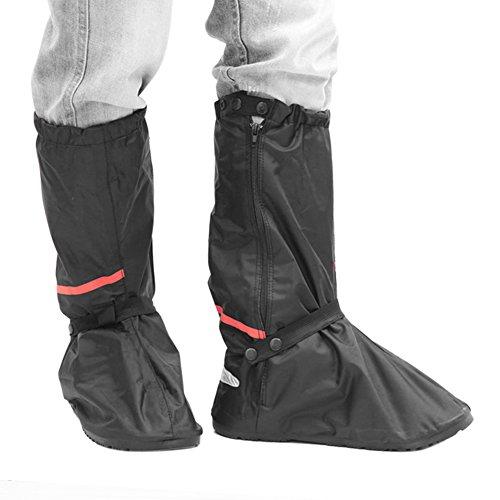 シューズカバー Aufool レインブーツ 滑り止め 男女兼用 防寒 雨雪対策 泥除け Lサイズ(30.5cm)