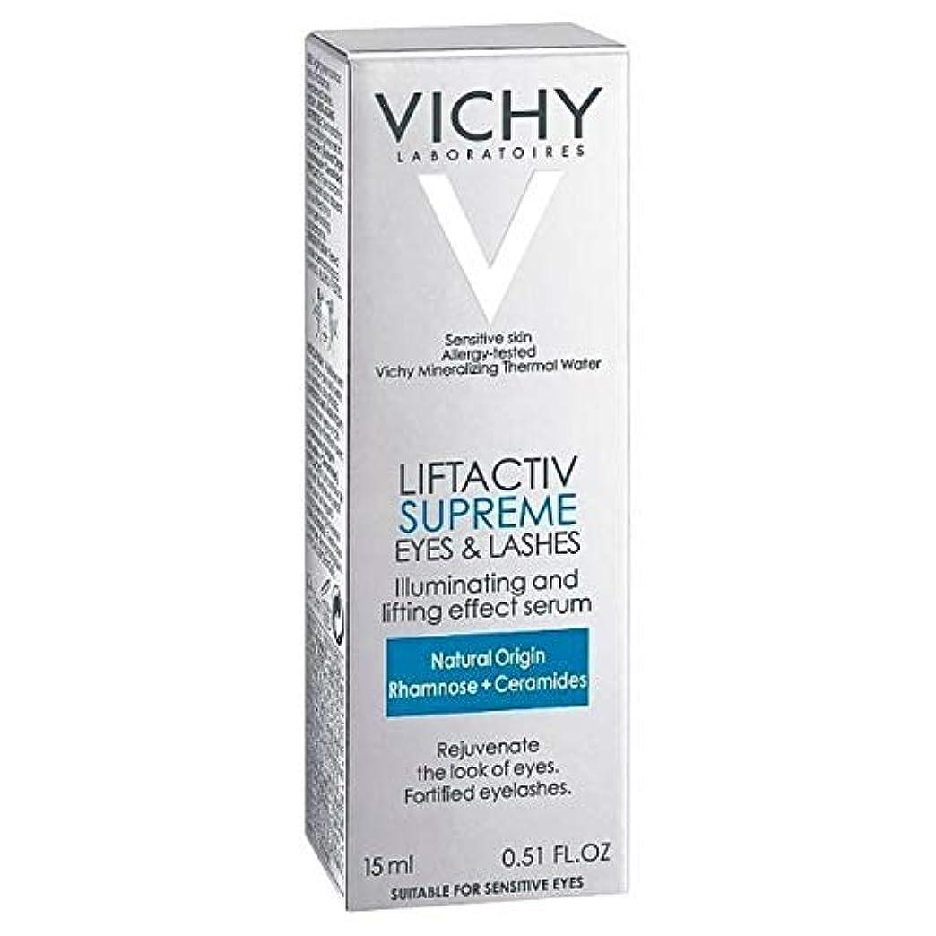 喜び地図技術[Vichy ] アンチエイジング血清10目&まつげ15ミリリットルLiftactivヴィシー - Vichy LiftActiv Anti-Ageing Serum 10 Eyes & Lashes 15ml [並行輸入品]