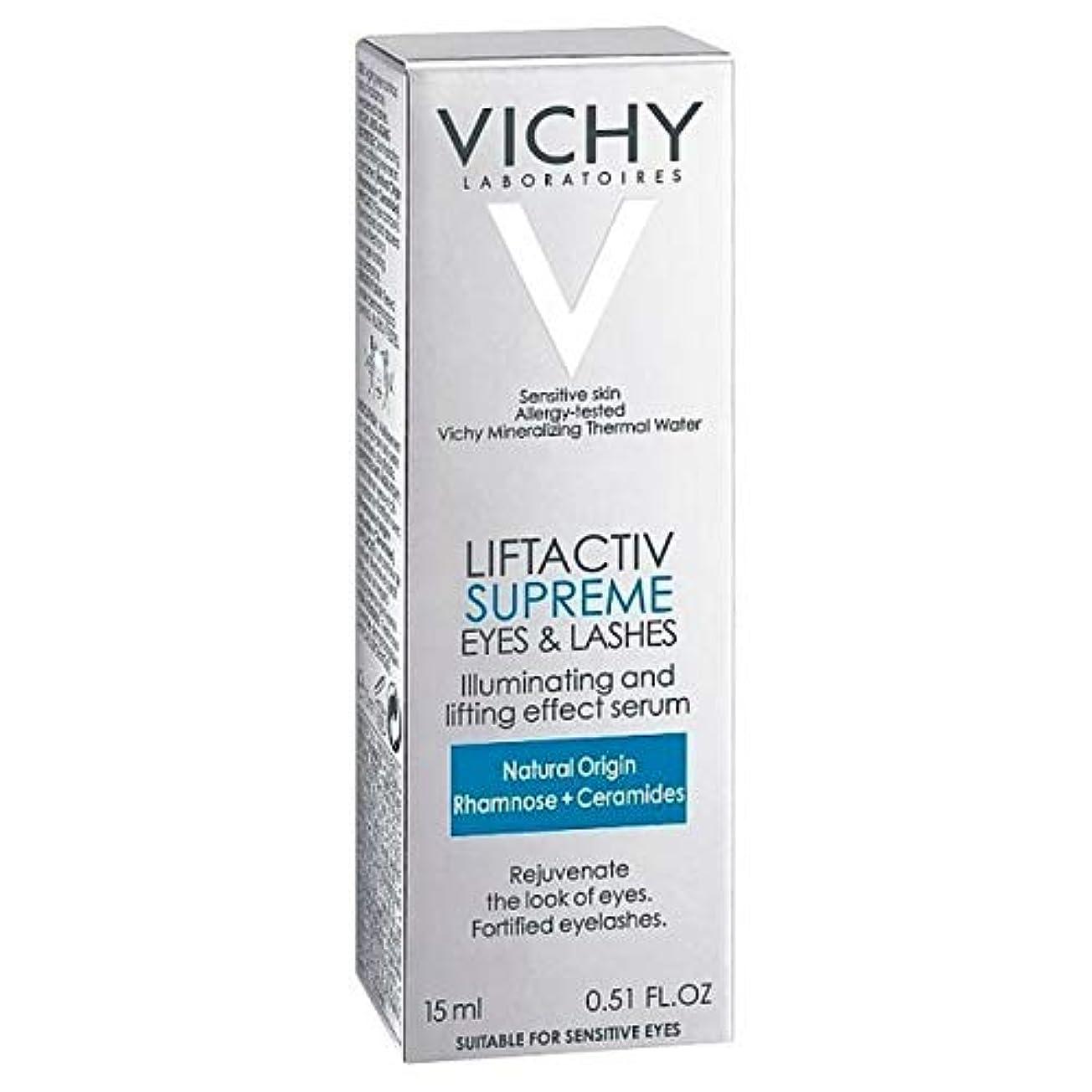 手首調べる食料品店[Vichy ] アンチエイジング血清10目&まつげ15ミリリットルLiftactivヴィシー - Vichy LiftActiv Anti-Ageing Serum 10 Eyes & Lashes 15ml [並行輸入品]