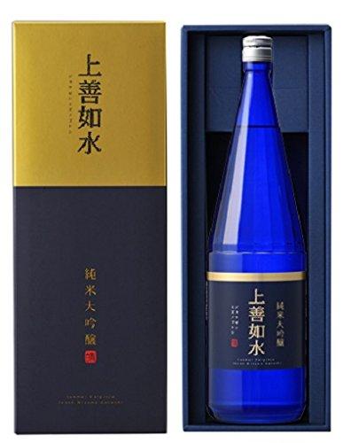 上善如水 純米大吟醸 瓶 1.8L