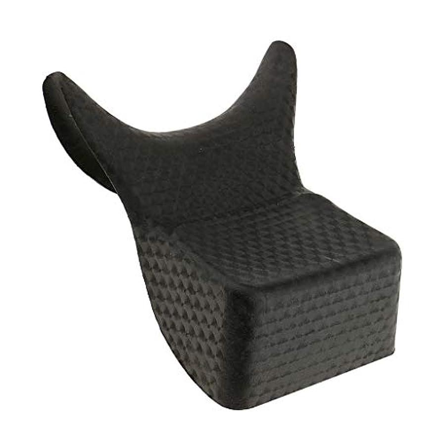 ペインギリック圧縮観点IPOTCH シャンプー ボウル ネッククッション サロン ヘア アクセサリー PVC