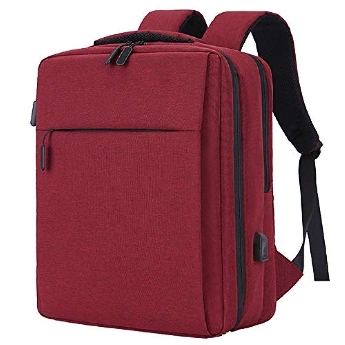 悪魔チャペル直立YOUPECKビジネスは、旅行バックパック、アンチ盗難バックパックUSB充電ポート、防水カレッジスクールのコンピュータバッグを運ぶ女性と男性は15.6インチノートパソコンのノートブックに適合