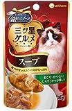 ユニチャーム 猫用ウェットフード 銀のスプーン おいしいスープ まぐろ・かつおにしらすとかつお節入り 40g