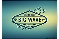 冷蔵庫用マグネット Fridge Magnet Holiday Travel Agency Big Wave