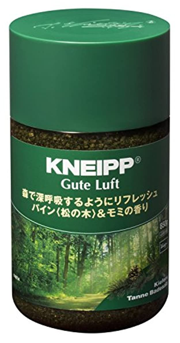 自伝比較的計画的クナイプ バスソルト グーテルフト パイン<松の木>&モミの香り 850g