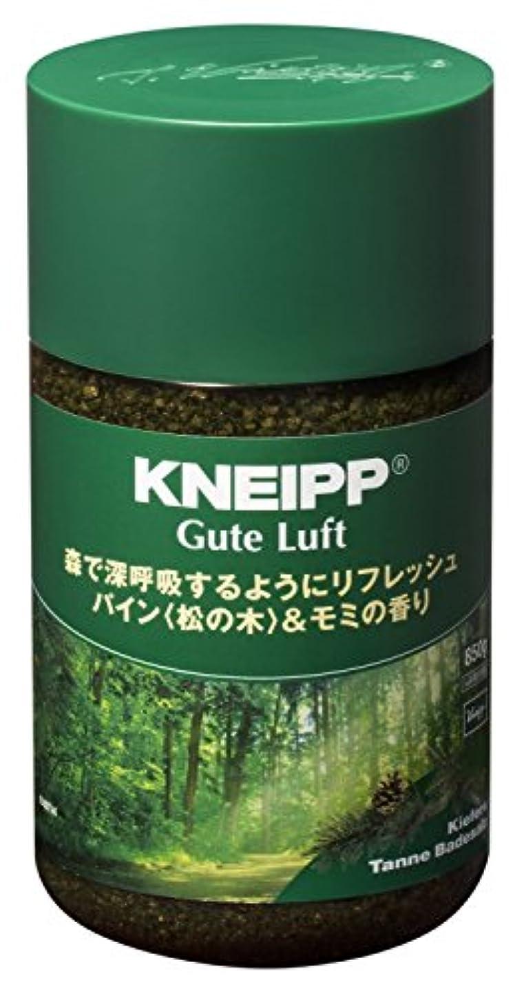 露骨なみなさん次クナイプ バスソルト グーテルフト パイン<松の木>&モミの香り 850g