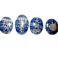 ジェット国際ラピスラズリ臼井レイキヒーリングセットチャクラバランシング瞑想の宝石用原石のスピリチュアル励磁ポジティブメンタル平和繁栄成長絆関係ディストレス不安