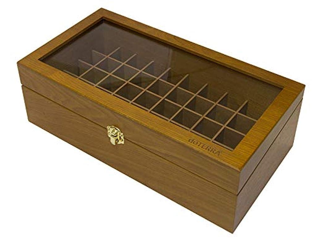 汗ホバー叙情的なドテラ doTERRA ウッドボックス50
