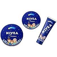 限定 NIVEA さくらももこデザイン ニベアクリーム 3種セット 花王 ちびまるこちゃん 青缶
