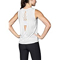 Mippo Womens Sexy Open Back Yoga Top Cute Workout Clothes Loose Backless Yoga Shirt