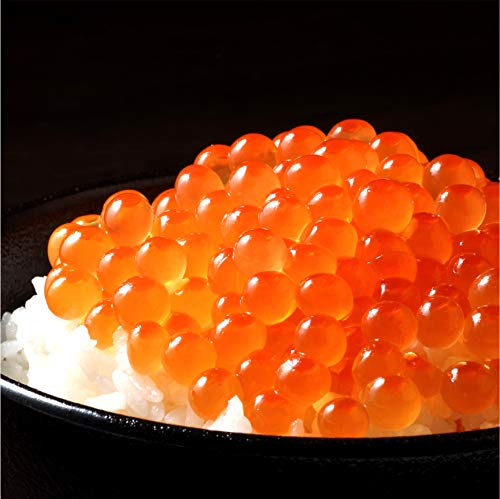 ■ 北海道加工 ■ 鮮度の鬼 いくら醤油漬け 500g (250g×2P) 鱒卵 鮮度抜群の熟成卵を北海道で一粒ずつ丁寧に醤油漬けしたイクラ