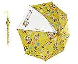 25995/ミッキーミニー傘 50cm/【Disney/ディズニー(ミッキーミニー)】キャラクターキッズ傘 50cm「ワンタッチタイプ」/レイン/グッズ/雨/服飾/レイン/ファッション/梅雨/子供/傘/かさ/アンブレ
