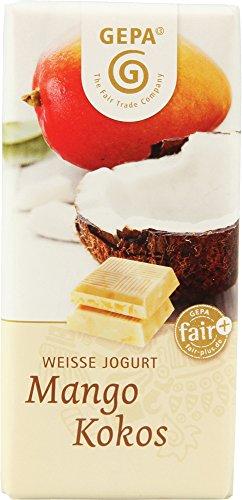 GEPA オーガニック マンゴーココナッツ ホワイトチョコレート 40g
