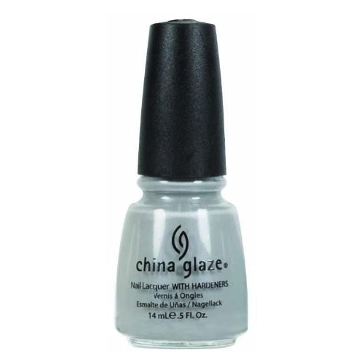 氷話すパワーCHINA GLAZE Nail Lacquer - Anchors Away - Pelican Gray