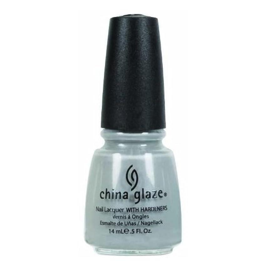 忙しい始める貫通するCHINA GLAZE Nail Lacquer - Anchors Away - Pelican Gray
