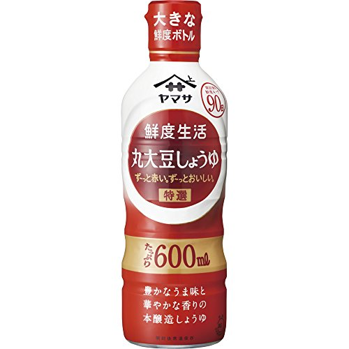 鮮度生活 特選丸大豆しょうゆ 600ml...