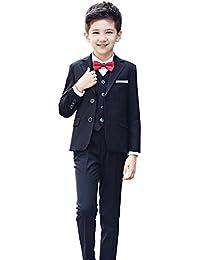 a707ae8894b56 Amazon.co.jp  ブラック - フォーマル   ボーイズ  服&ファッション小物