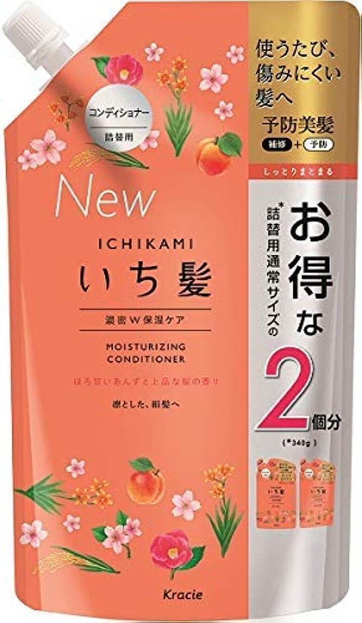 翻訳者永久ベースいち髪 濃密W保湿ケアコンディショナー詰替用2回分 × 3個セット
